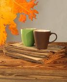 Autumn cup — Stock Photo