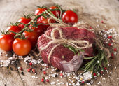 Steak, food — Stock Photo