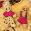 christmas gingerbread — 图库照片 #35016631