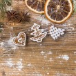 christmas gingerbread — Stockfoto #35017811
