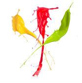 Color splash — Stock Photo