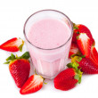 Fresh milk shake — Foto Stock