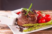 Fresh steak — Stock Photo