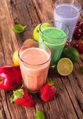 Milk shake drink — Stock Photo