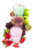 Fresh milk shake — Stock Photo