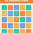 25 Business icons — Stock Vector