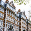 Mansion block in London, England — Stock Photo