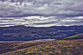 HDR image of Loch Tay as viewed from Lawers national park, Scotland — Stock Photo