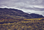 The Tarmachan ridge viewed from Lawers national park, Scotland — Stock Photo
