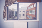 View of apartment block — Stock Photo