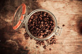 Overview shot of coffee theme  — Stock Photo