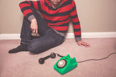Waiting for a call — Stock Photo