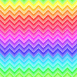 Stock Vector: Chevron rainbow colored seamless pattern