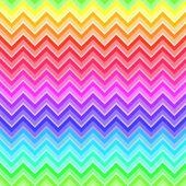 Chevron rainbow colored seamless pattern — Stock Vector
