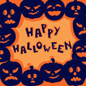Halloween greeting — Stockvector