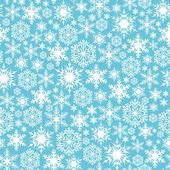 Padrão sem emenda com flocos de neve — Vetorial Stock