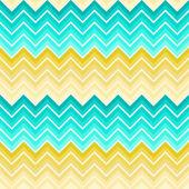Mavi ve sarı renkli sembol desen — Stok Vektör