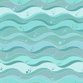 океан волны фон — Cтоковый вектор