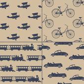 винтаж транспорта. — Cтоковый вектор