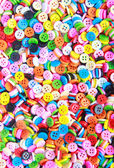 Colorful buttons, Colorful Clasper — Stock Photo