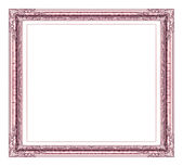 Vintage frame with blank space, with clipping path — Stock Photo