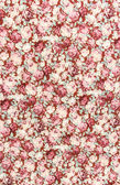 Rose bouquet design Seamless pattern on fabric as background — Stock Photo