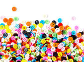 Colorful buttons, Colorful Clasper — Stok fotoğraf