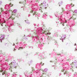 Rose bouquet design Seamless pattern on fabric as background — Foto Stock #35380829