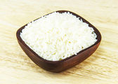 Jasmijn rijst op bowl — Stockfoto