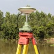 Stock Photo: GPS surveying