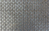 Metal rhombus shaped background and texture — Stock Photo