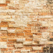 Old cracked concrete vintage brick wall background — Stock Photo #35516199