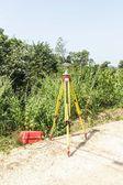 GPS surveying — Stock Photo