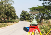 GPS surveying — Stock Photo