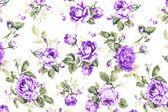 Purple Rose Fabric background, Fragment of colorful retro tapest — Stock Photo