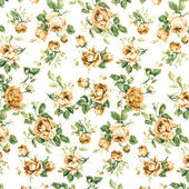коричневые розы ткани фон, фрагмент красочной ретро tapestr — Стоковое фото