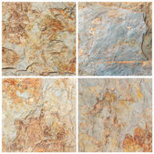 Set of stone background and texture (High resolution) — 图库照片