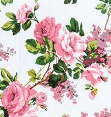 Rose fabric background — Stock Photo