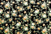 Brown Rose Fabric Background, Fragment of colorful retro tapestr — Stock Photo