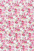 Red rose fabric background, Fragment of colorful retro tapestry  — Stockfoto