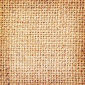Sackcloth brown textured background  — Stock Photo