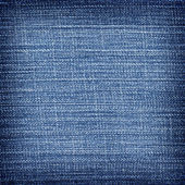 Blue jean background  and texture — Stock Photo