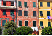 Italian old houses — Stock Photo