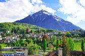 Pic de la suisse près de spiez — Photo