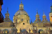 Dome in Saragossa — Stock Photo