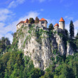 Old Castle in Bled, Slovenia - Stock Photo