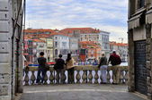 Watching Grand Canal — Stock Photo