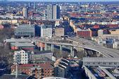 Stockholm suburbs — Stock Photo