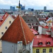Roofs of old town in Tallinn — Stock Photo