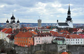 Tallinn panorama, top view — Stock Photo